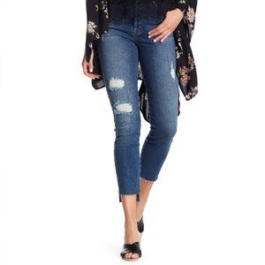 NEW Level 99 High Rise Distressed Skinny Jeans